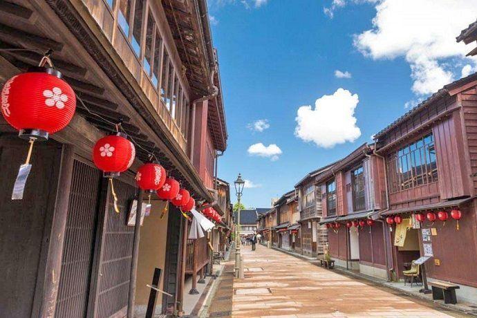 Tour distrito de las geishas de kanazawa
