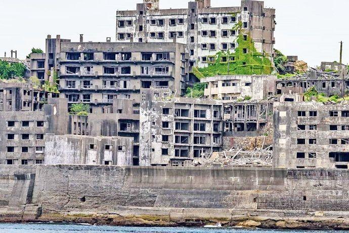 Hashima, isla fantasma de Japón