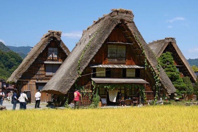 Comer en Shirakawago
