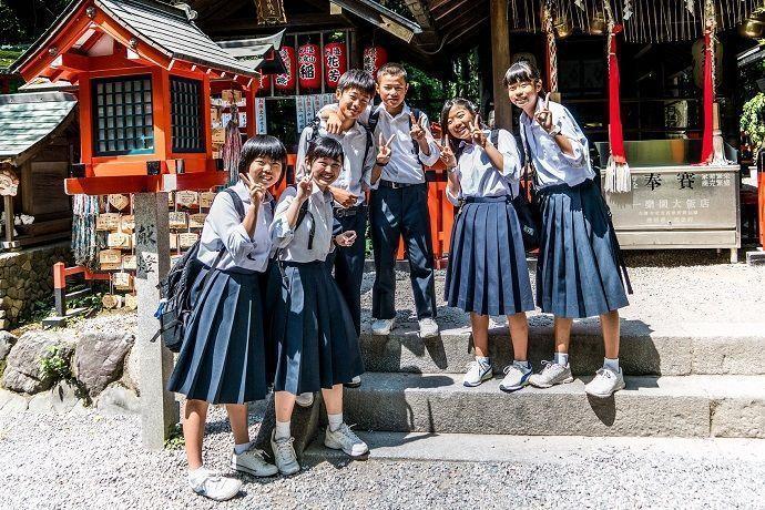 Horario escolar Japón