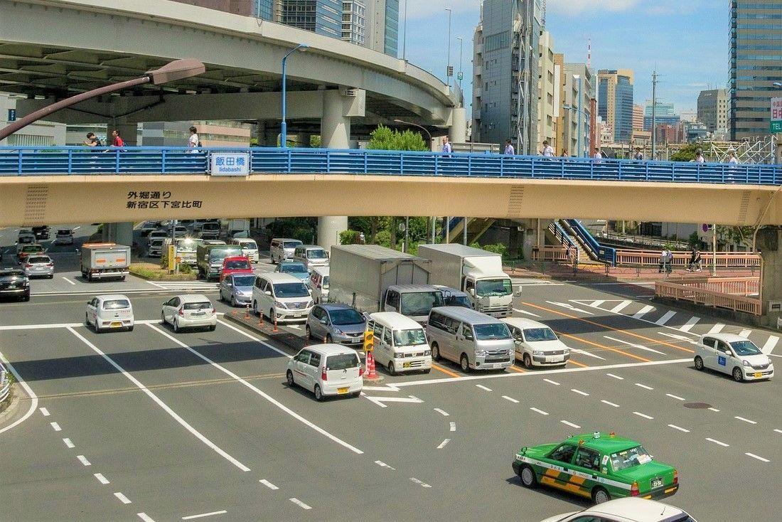 Conducir en Japón