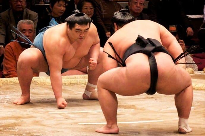 Símbolo de Japón sumo