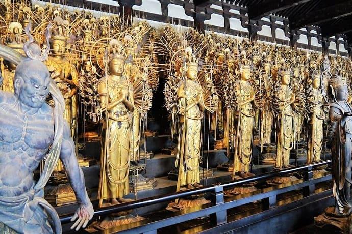 Templo Sanjusangendo Kioto