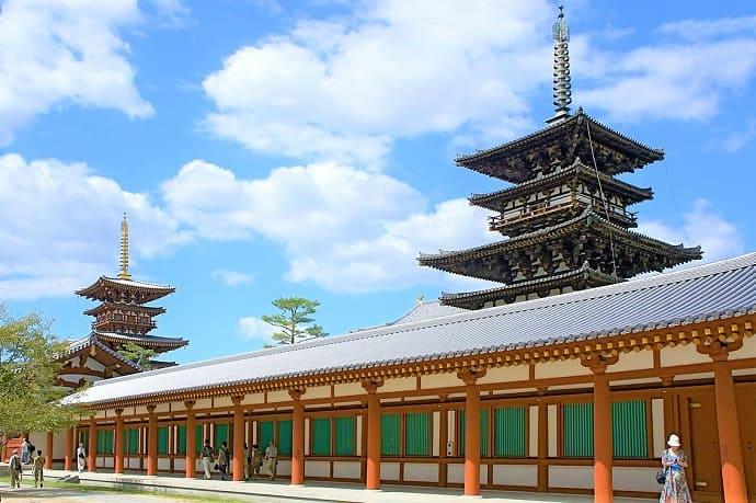 Templo Yakushiji Nara